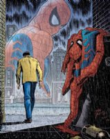 JR sr. Spiderman No More DF litho ..  Comic Art